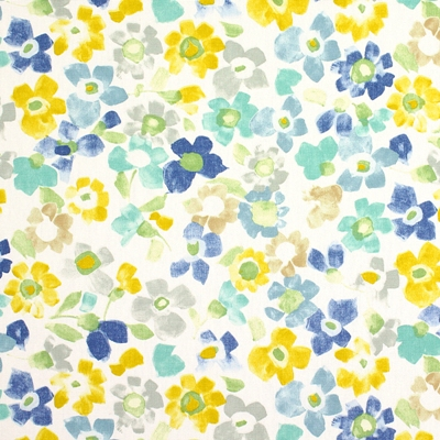 Sweet Pea Azure 100% cotton 137cm |32cm Curtaining