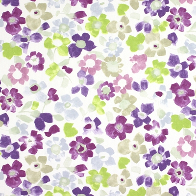 Sweet Pea Lavender 100% cotton 137cm | 32cm Curtaining