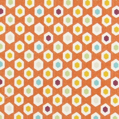 Bahia Mango   100% cotton    137cm | 21.5cm    Curtaining