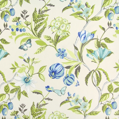 Botanica Lagoon   100% cotton    137cm |   64cm    Curtaining