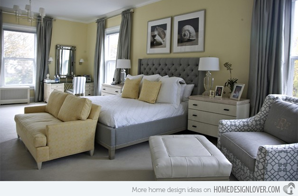 We Think We Youu0027ll Be Onboard Once You See These 10 Beautiful Bedrooms  Ideas, Each Done Up In Itu0027s Own Unique Take Of The Grey And Yellow Colour  Combination ...