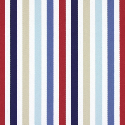 Crew Marine   79% cotton, 21% polyester    138cm | Vertical Stripe    Curtaining
