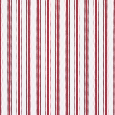 Deck Red   100% cotton    140cm | Vertical Stripe    Curtaining