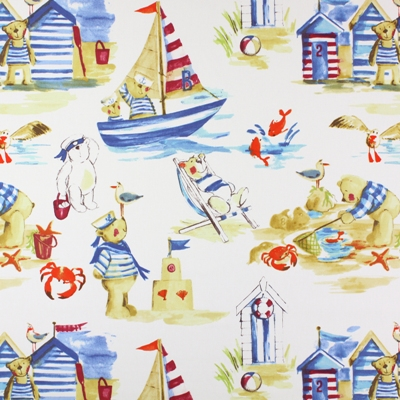 Seaside Marine   100% cotton    137cm | 64cm    Curtaining
