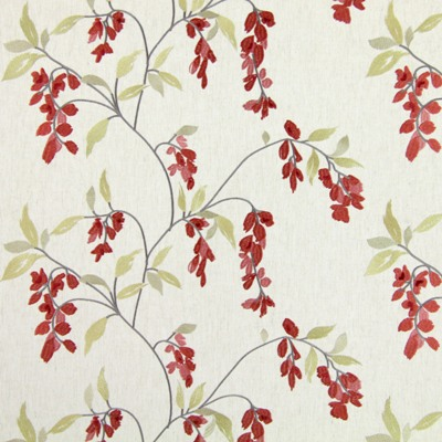 Montague Cherry 60% polyester/ 21% cotton/ 19% linen 142cm |33cm Embroidery