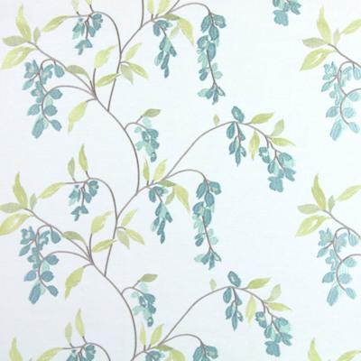 Montague Duck Egg 60% polyester/ 21% cotton/ 19% linen 142cm |33cm Embroidery