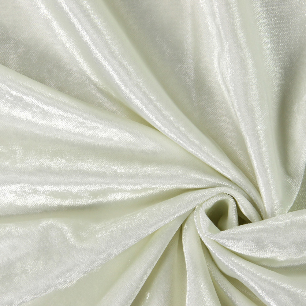 Luxuriant Pearl 100% polyester 141cm |Plain Curtaining