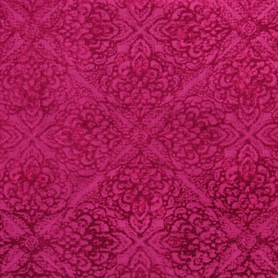 Samba Fuchsia 39% polyester/ 39% viscose/ 22% rayon 144cm (useable 139cm) |34cm Embroidery