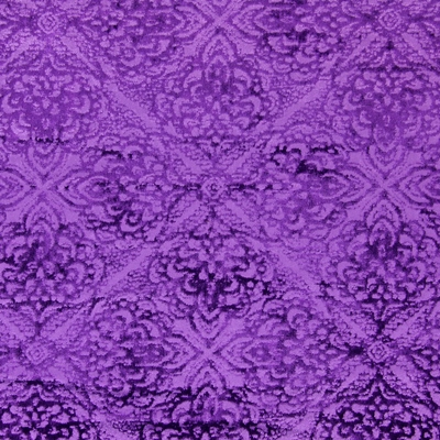Samba Grape 39% polyester/ 39% viscose/ 22% rayon 144cm (useable 139cm) | 34cm Embroidery