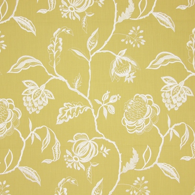 Lahini Saffron 64% viscose/ 27% linen/ 9% polyester 145cm (useable 130cm) |47.5cm Embroidery