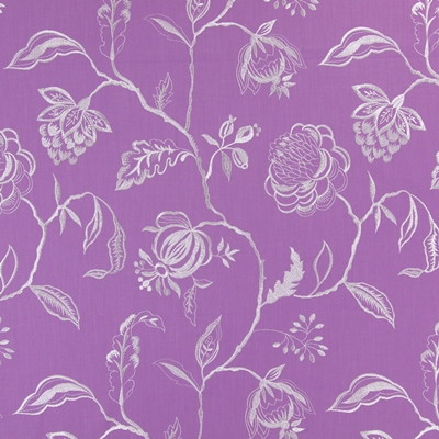 Lahini Lavender   64% viscose/ 27% linen/ 9% polyester    145cm (useable 130cm) |   47.5cm    Embroidery
