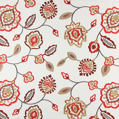 Lovina Tabasco 58% polyester/ 42% cotton 142cm (useable 130cm) | 45.5cm Embroidery