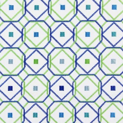 Karuba Indigo 59% polyester/ 41% cotton 140cm (useable 134cm) |31cm Embroidery