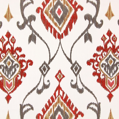 Tuvala Tabasco   59% polyester/ 41% cotton    140cm (useable 134cm) |   31cm    Embroidery