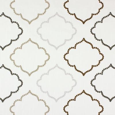 Karim Parchment  43% cotton/ 57% polyester  144cm (useable 131cm) | 15.5cm  Embroidery