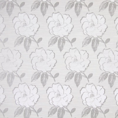 Bardot Silver 58% polyester/ 42% cotton 140cm |48cm Curtaining
