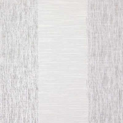 Capulet Silver   58% polyester/ 42% cotton    140cm | Vertical Stripe    Curtaining