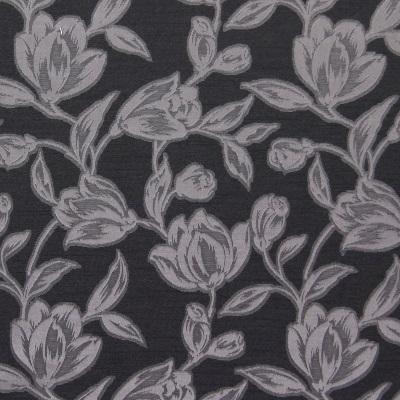 Hepburn Graphite 58% polyester/ 42% cotton 140cm |25.4cm Curtaining