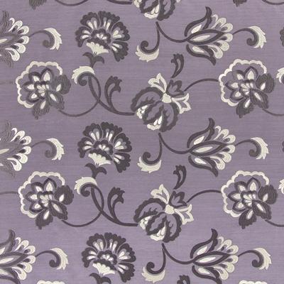 Novara Lavender   100% polyester    141cm (useable 138cm) |  23m    Embroidery