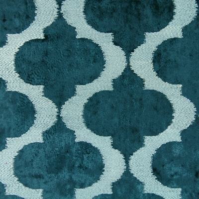 Odyssey Teal   100% polyester    144cm (useable 139cm) | 16m    Embroidery