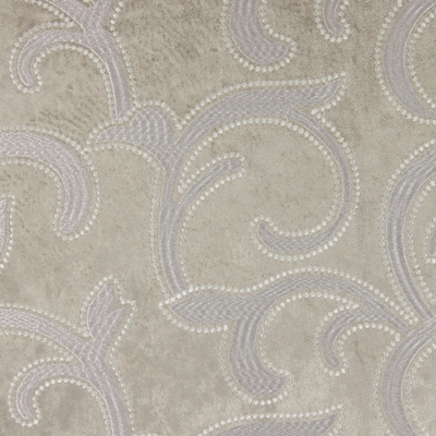 Salerno Fawn 100% polyester 144cm (useable 140cm) |47cm Embroidery