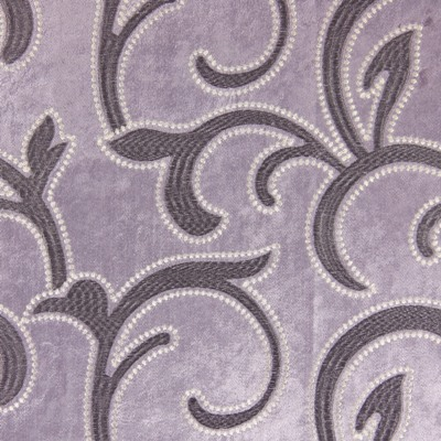 Salerno Lavender   100% polyester    144cm (useable 140cm) | 47cm    Embroidery