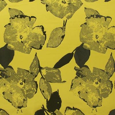 Santa Monica Saffron   64% polyester/ 36% linen    140cm |  81.5cm    Dual Purpose