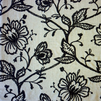 Falmouth Onyx 46% viscose/34% polyester/20% linen 140cm | 46cm Curtaining