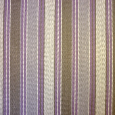 Somerville Lavender (CHECK STOCK) 40% cotton/ 40% viscose/ 20% linen 140cm | Vertical Stripe Dual Purpose