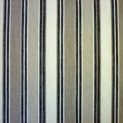 Somerville Onyx 40% cotton/ 40% viscose/ 20% linen 140cm | Vertical Stripe Dual Purpose