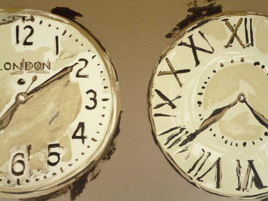 Time Bronze 76cm