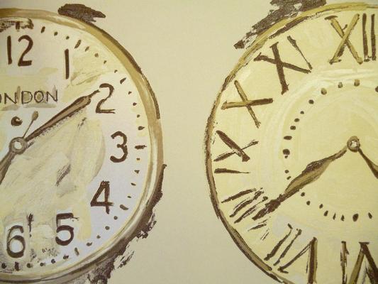 Time Alabaster 76cm