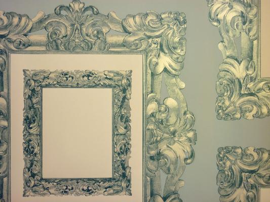 Mirror Mirror Vintage Blue 76.2cm