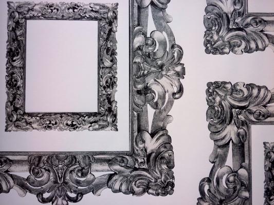 Mirror Mirror Graphite 76.2cm