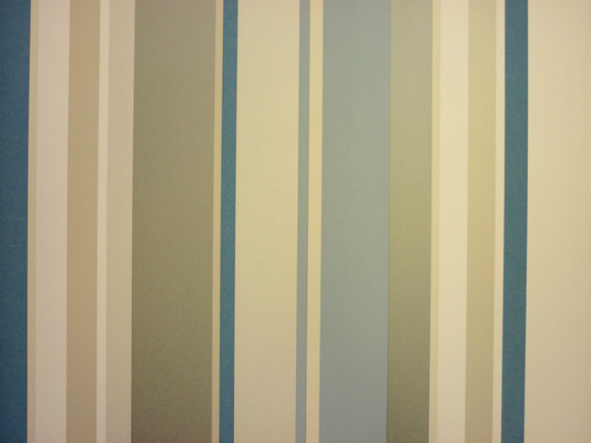 Edition Vintage Blue Vertical Stripe