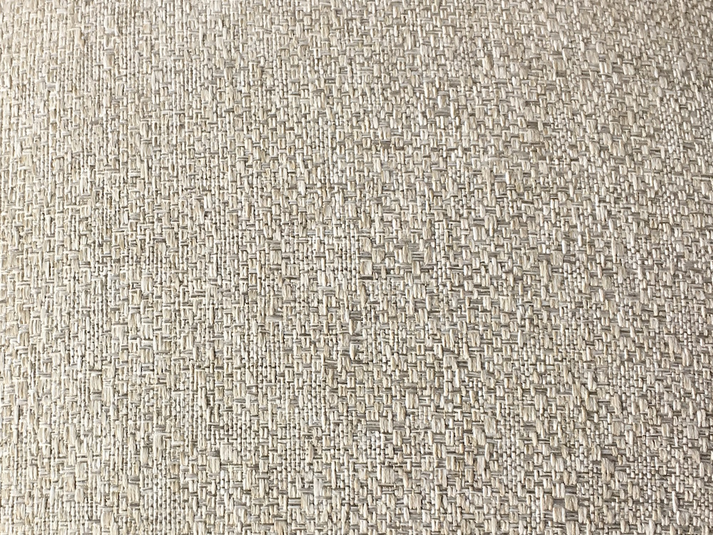 """City Mohair"" from the Urban Weaves Collection is a beautiful textured complement in stone and cream tones."
