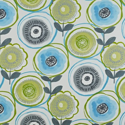 Indah Apple  100% Cotton  137cm wide | 64cm repeat  Curtaining