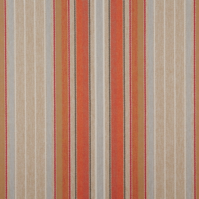 Braemar Auburn  100% Polyester  139cm wide | Vertical Stripe  Dual Purpose