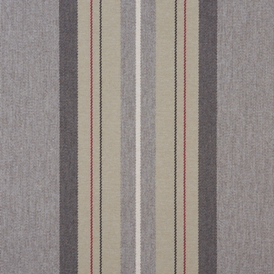 Glenfinnan Slate  100% Polyester  140cm wide | Vertical Stripe  Dual Purpose