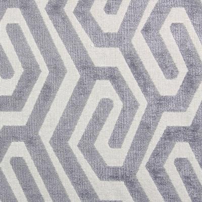 Maddox Silver  60% Poly/ 34% Acryl/ 6% Visc  141cm wide | 15cm  Dual Purpose