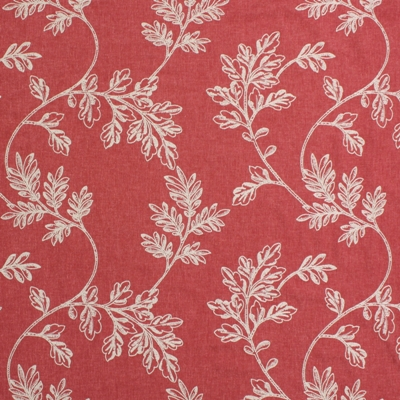 Trinity Cranberry  58% Poly/ 24% Cott/ 18% Lin  138cm wide(useable 131cm) | 32cm  Embroidery