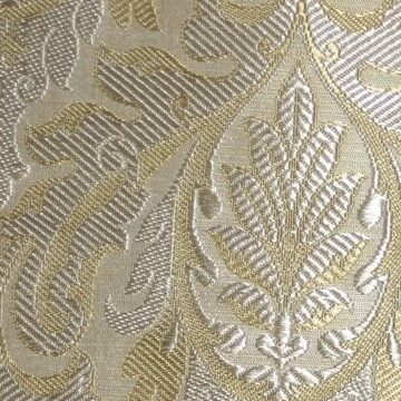 BROCADE |  A heavy Jacquard patterned cloth in which the design stands out.