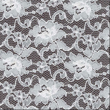 LACE |  An open designed decorative fabric used in curtain nets. It is beautiful in 100% cotton but it is also blended with man-made fibres for strength and versatility.