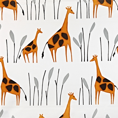 Geoffrey Giraffe  100% Cotton  137cm wide | 64cm  Curtaining