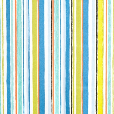 Zoom Azure  100% Cotton  137cm wide | Vertical Stripe  Curtaining