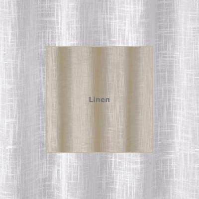 WOODSTOCK LINEN  285 X 218cm - standard tape - lined  285 X 250cm - standard tape - lined  100% Polyester