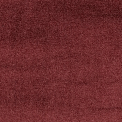 Velour Bordeaux 100% Polyester 143cm | Plain Dual Purpose 40,000 Rubs