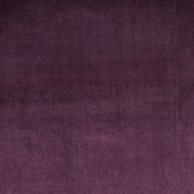 Velour Grape 100% Polyester 143cm | Plain Dual Purpose 40,000 Rubs