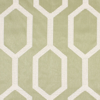 Merton Celadon  51% Polyester/ 49% Cotton  142 (side rpts 134) | 32cm  Embroidered