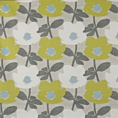 Bermondsey Fennel 100% Cotton 137cm wide | 32cm Curtaining